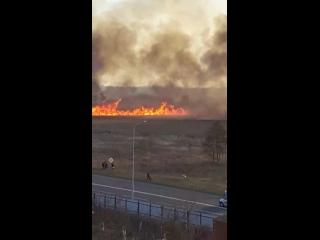 Шквал огня на окраине Слуцка. Видеофакт