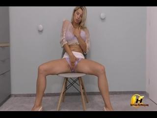 ✨Katerina Hartlova - Striptease in Velvet Lingerie
