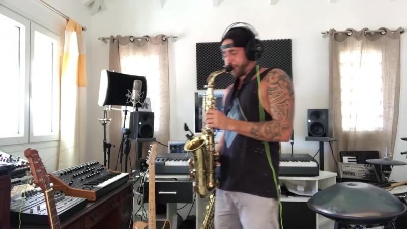 Jimmy Sax Parga Oriental sax live mp4