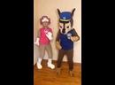 Демонстрация костюмов Скай и Гонщика