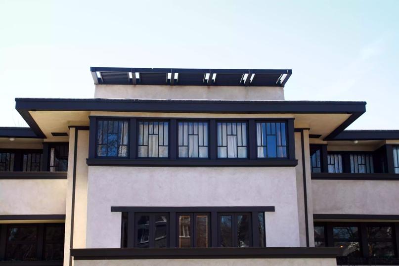 Дом Оскара Б. Балча, Оук-Парк, Иллинойс, спроектированный Фрэнком Ллойдом Райтом, 1911 г