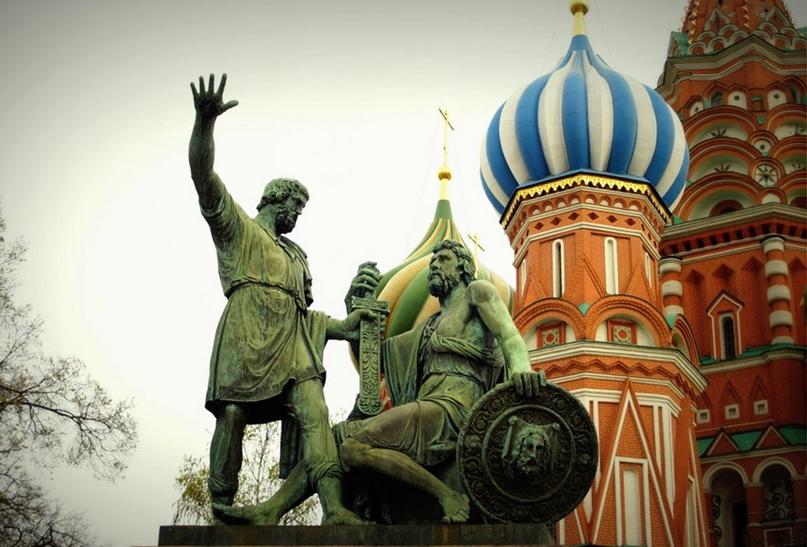 Памятник Минину и Пожарскому, Москва, Красная площадь