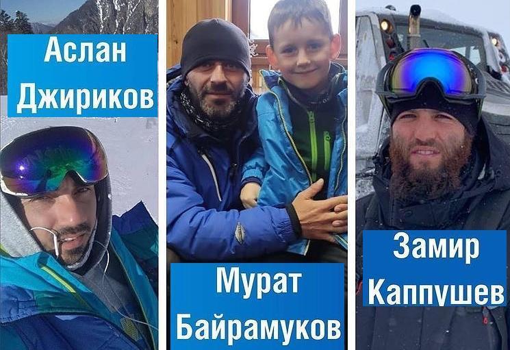 Глава КЧР наградил трех инструкторов спасших детей во время лавины в Домбае