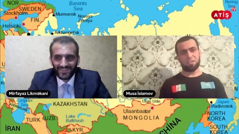 ATİŞ TV Что известно о судьбе талышей депортированных в Казахстан De Musa İslamovi