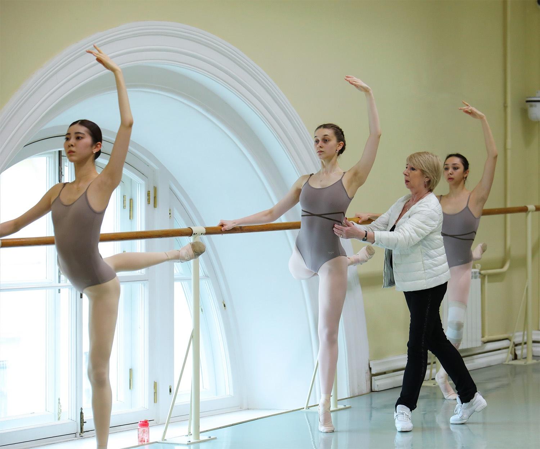 М.А. Грибанова в классе