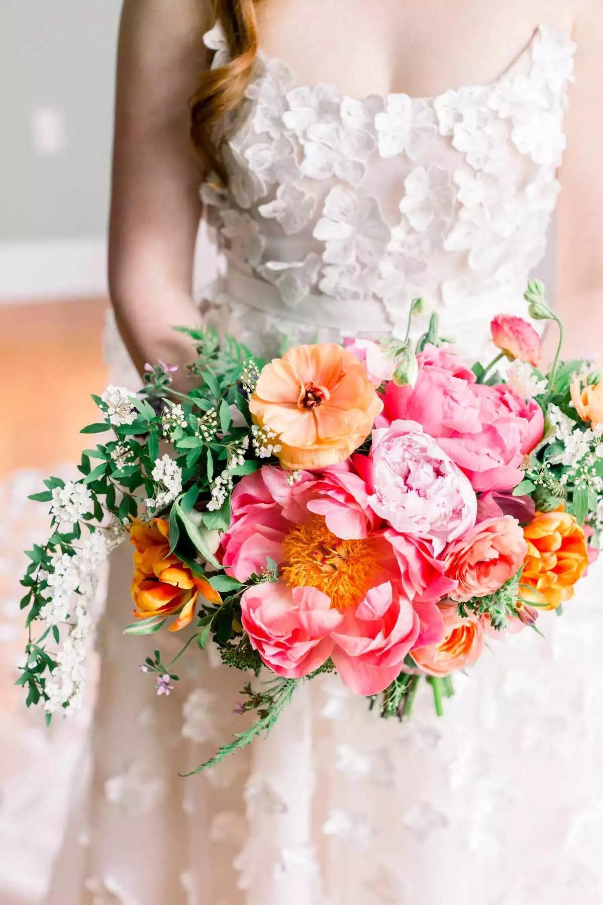 j MWzH6h9Ss - Букет невесты из тюльпанов