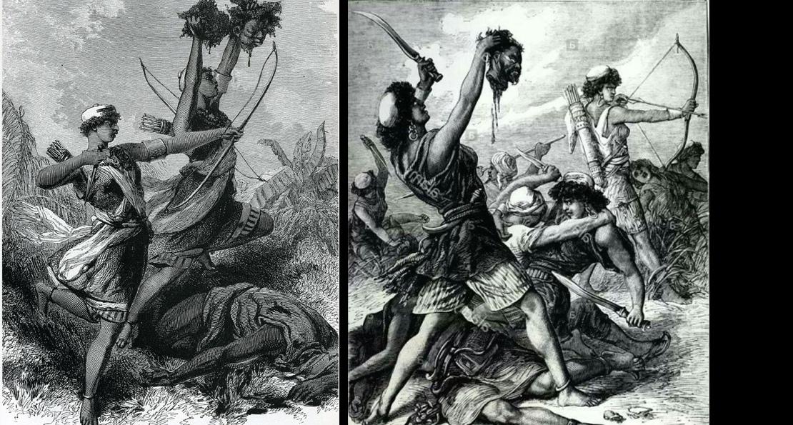 Амазонки в бою