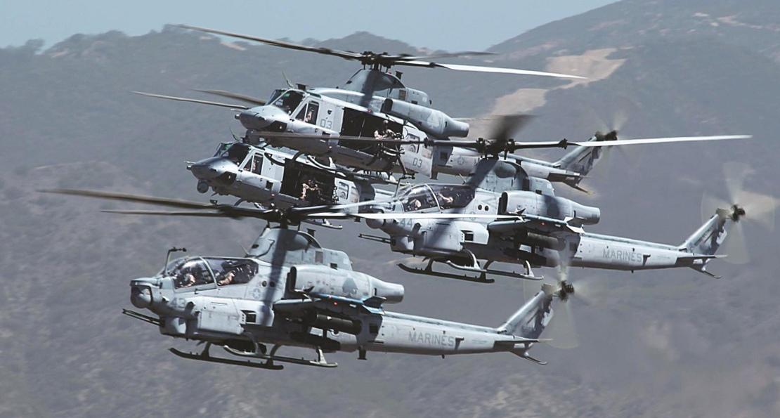 Вертолеты США в Чехии