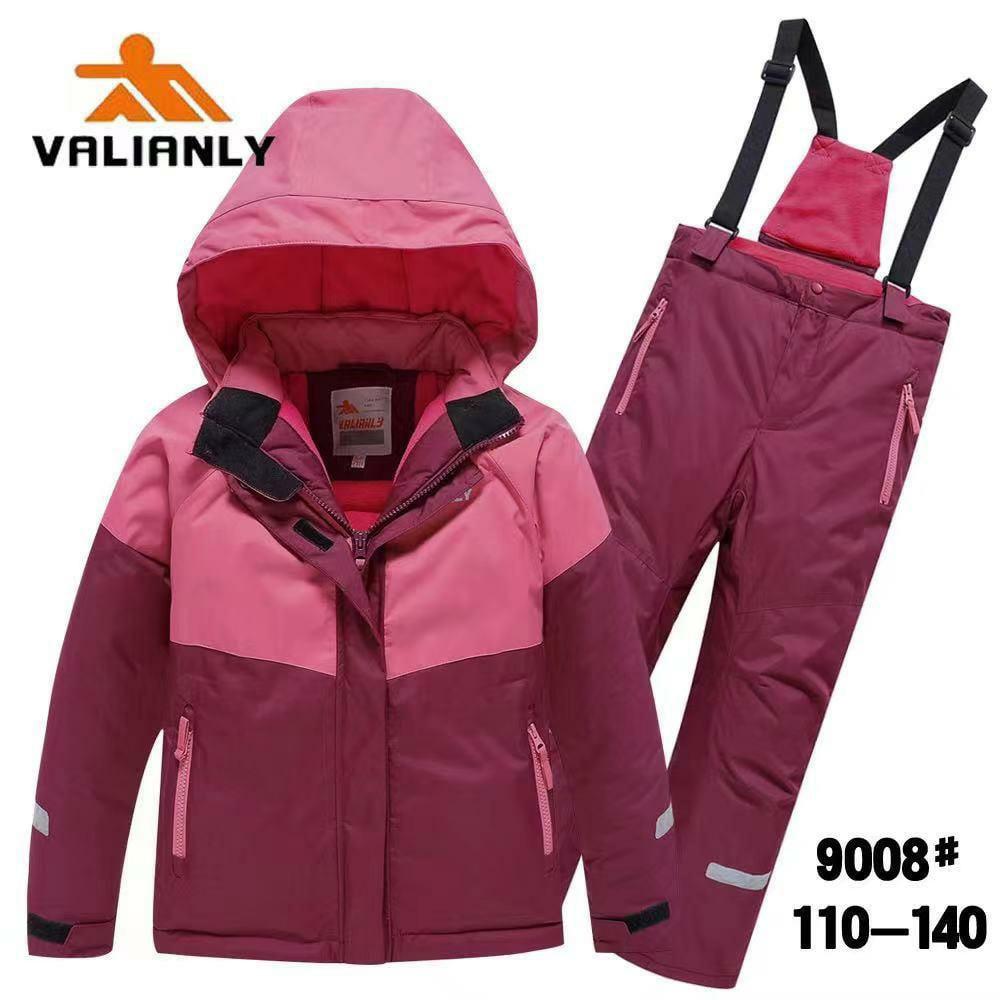 Зимний комплект Valianly 9008 розовый