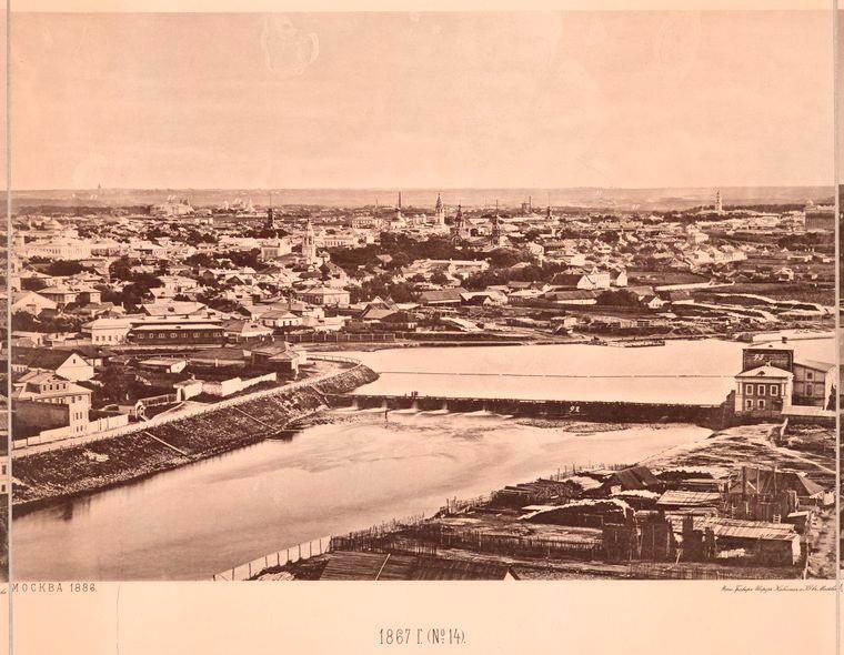 Москва без людей в 1867 году. Где все люди?, изображение №26