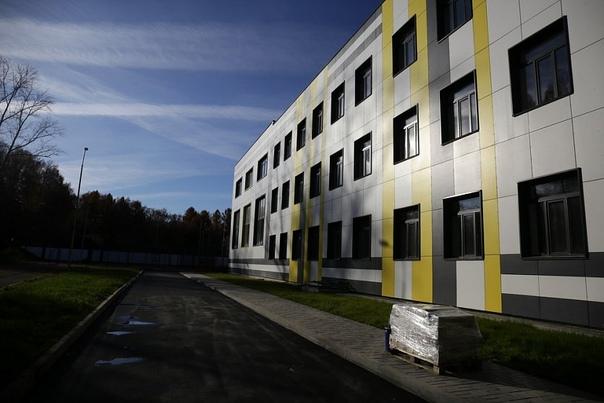 Строительство гимназии №3 в новосибирском Академго...