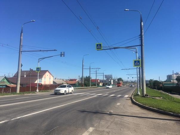 Еще 40 участков улично-дорожной сети Пензы стали б...