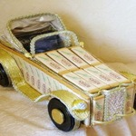 Автомобиль-кабриолет и другие машинки из конфет своими руками — МК и идеи