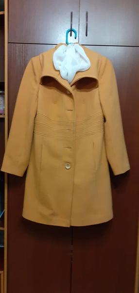 Продаётся пальто. В хорошем состоянии. Размер 48. ...