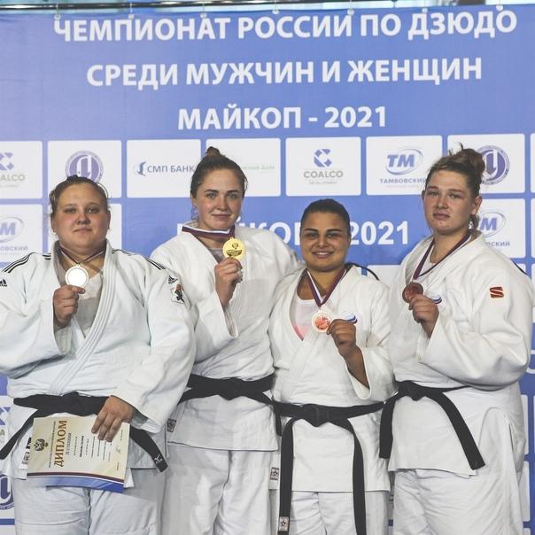 Дзюдоистки Самарской области выиграли три медали на чемпи...
