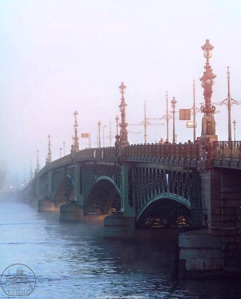 Троицкий мост — самый французский мост Петербурга 💙👑📷mash...
