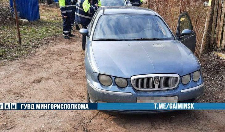 В Минске со стрельбой задерживали пьяного бесправника на угнанной машине