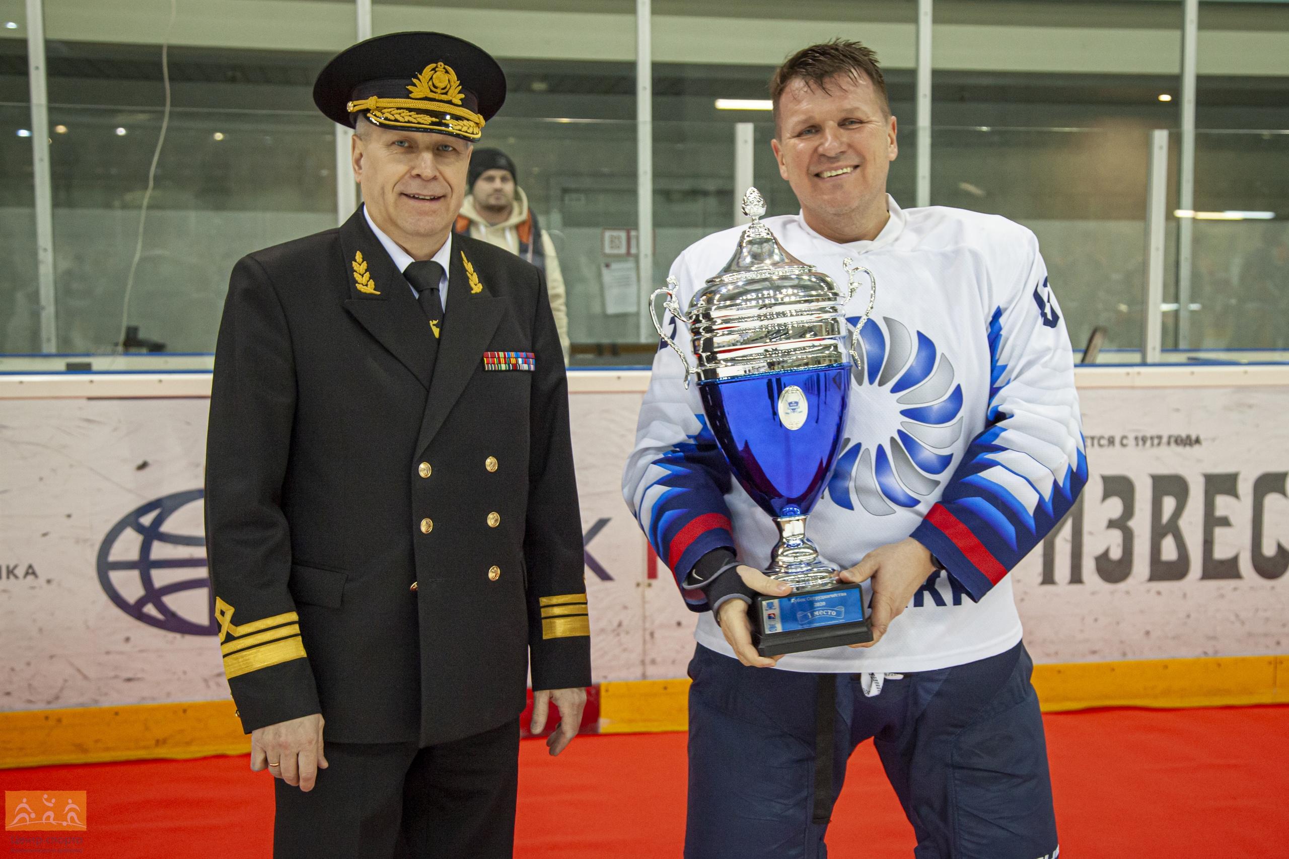 ХК Калининский район чемпион кубка сотрудничества 2020!