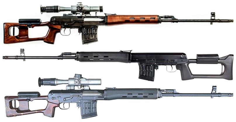Различные варианты исполнения винтовок СВД в зависимости от года выпускаkalashnikov.com