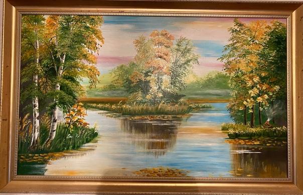 Продам картину, 108*68 см, 2000 руб. Красногорский...