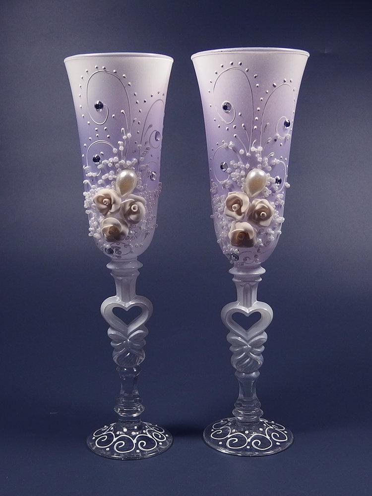 FVrSXLuv5R4 - Красивые свадебные фужеры