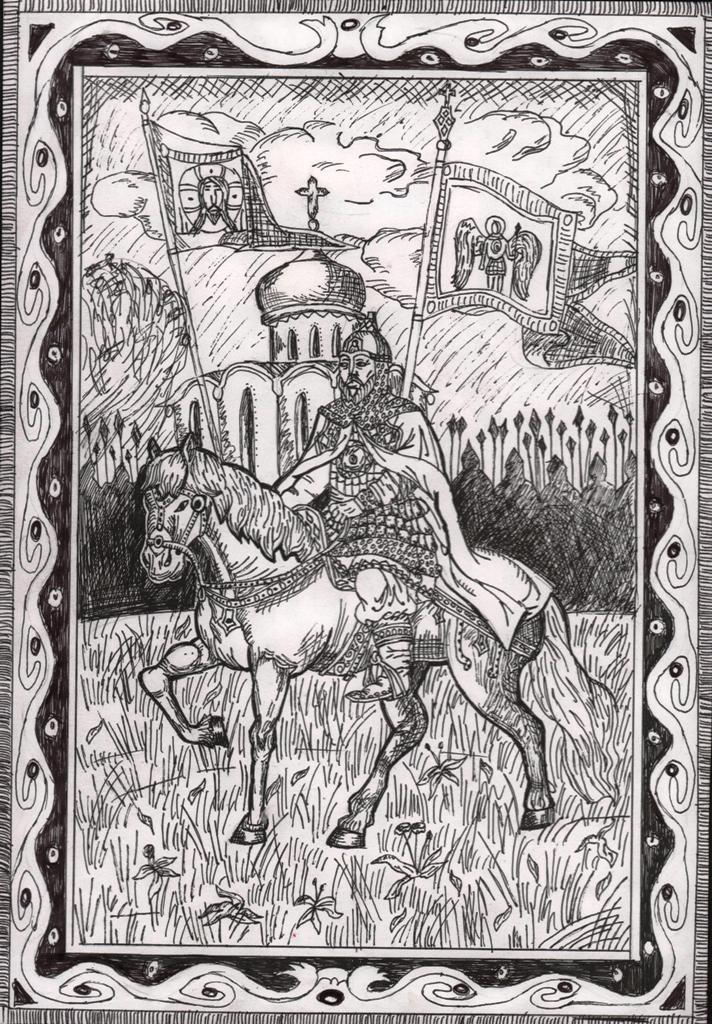 Якутская епархия подвела итоги конкурса «Александр Невский: воин, князь, святой», изображение №5