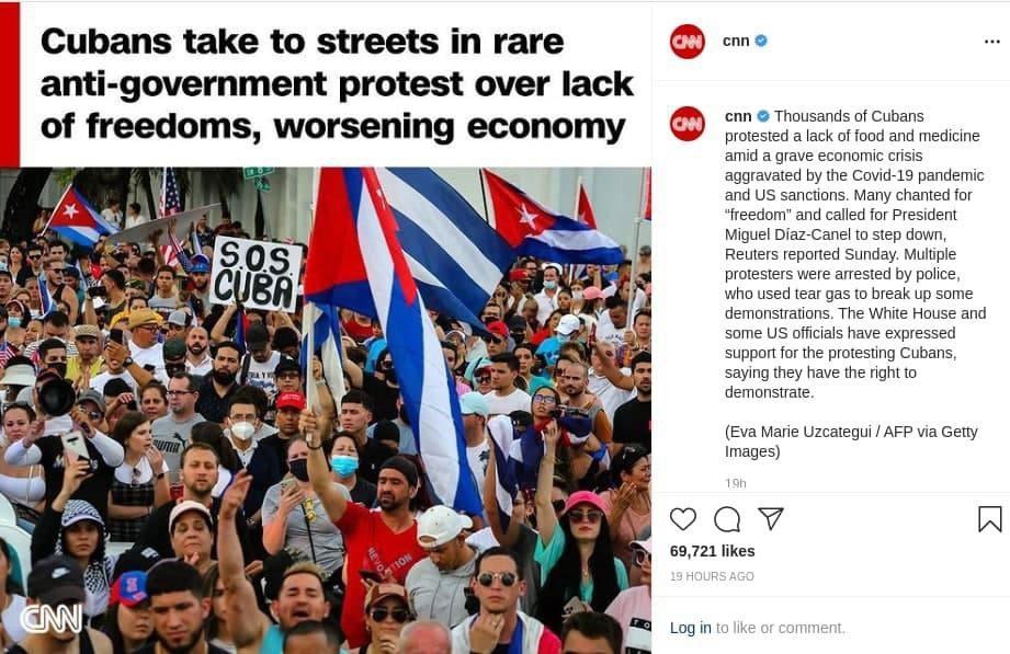 Куба, США, Китай и Россия