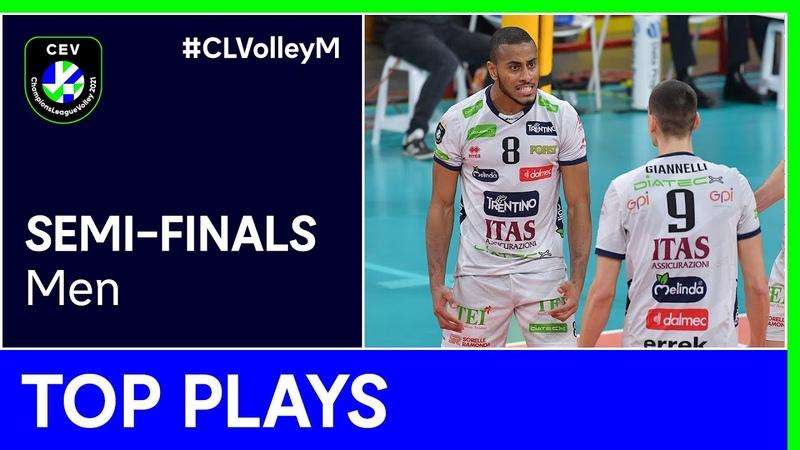 Top 5 Plays Semi Finals CLVolleyM