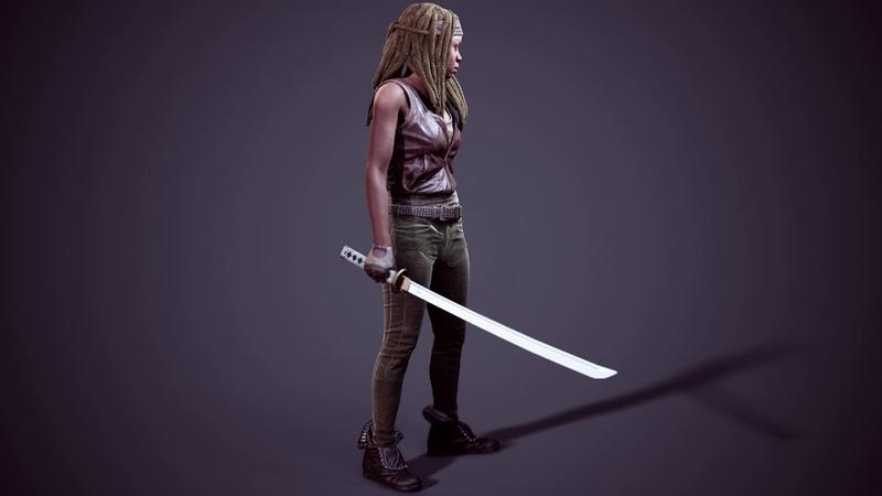 Michonne - Walking Dead: Onslaught Turnaround