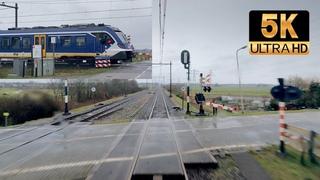 [5K] Spotter Joerie captures Cabview Holland: Groningen - Zwolle SNG 28jan 2021