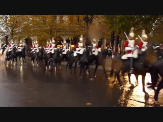 The band of the household cavalry and the life guards