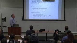 Andr Joyal --- Homotopy type theory: a new bridge between logic, category theory and topology.b
