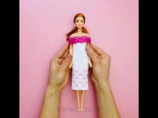 I am a barbie girl, in a barbie world