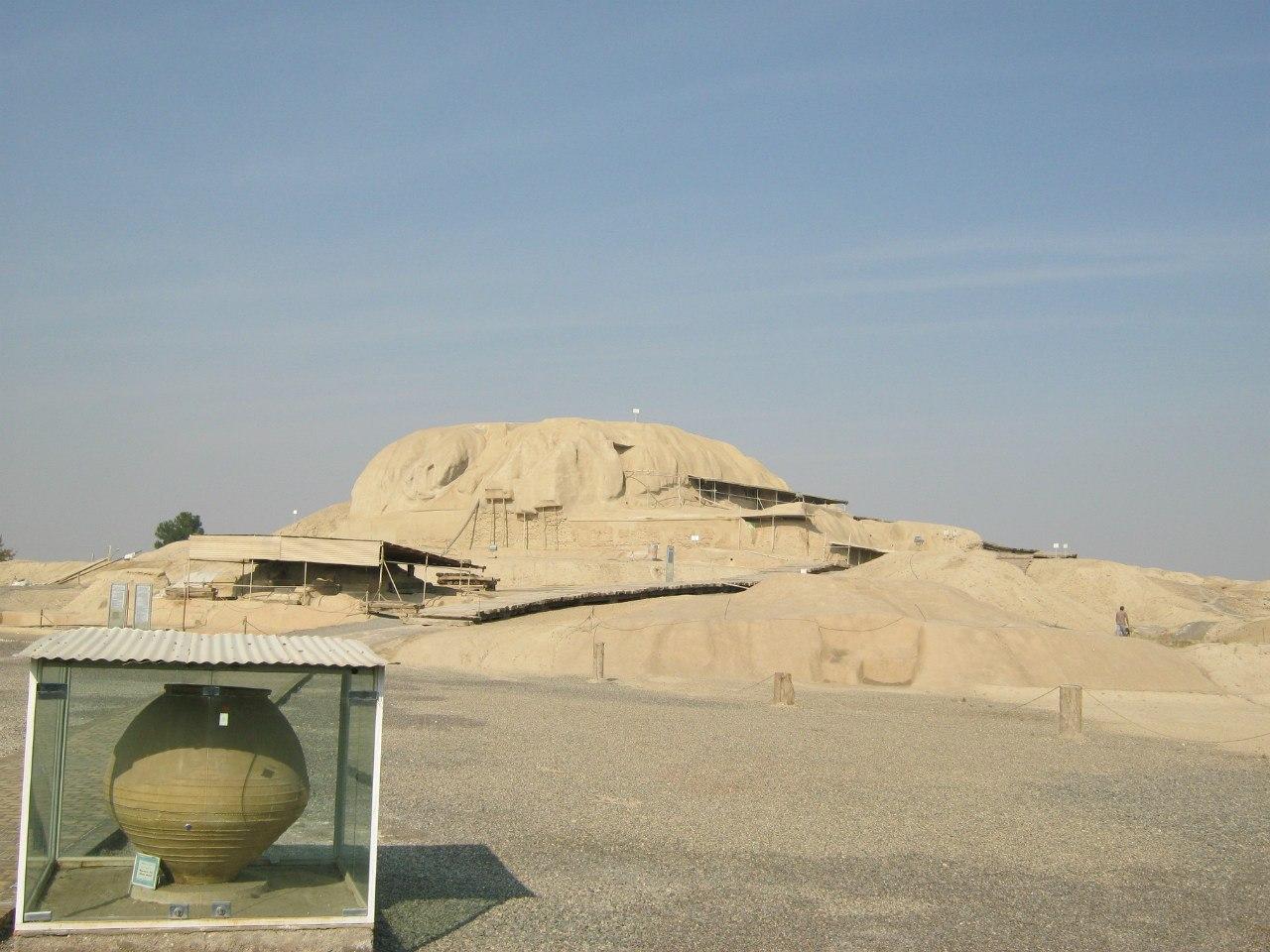 Зороастрийский храм в Кашан