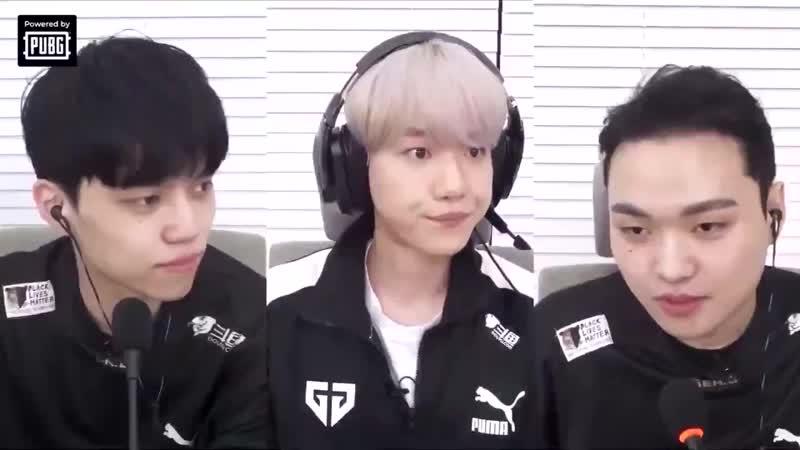 أحد أعضاء الفريق قال إذا تعلم بيكهيون المزيد عن PUBG فيمكنه أن يُصبح العضو الخامس في Gen G بيكهيون أووه Gen G B H @B hundred Hyun