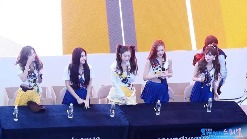 180818 레드벨벳 RED VELVET SMMER MAGIC 팬사인회 fan sign 4K 직캠 @ 고양 스타필드 by Spinel