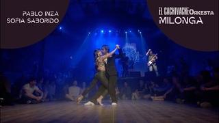 CACHIVACHE Orkesta, Pablo Inza & Sofia Saborido, Milonga Ella es asi en Bilongon