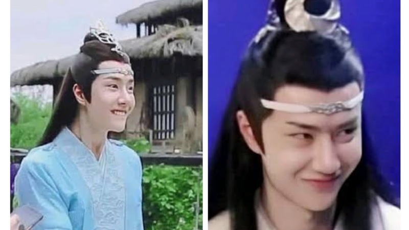 Wang Yibo and Xiaozhan fighting with each other for no reason