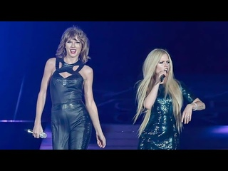 Avril Lavigne & Taylor Swift - Complicated (The 1989 World Tour) Live 2015