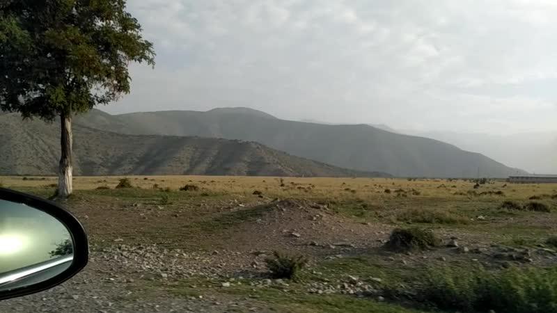 Дорога Исмаиллы Шеки Азербайджан