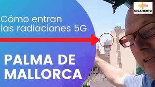 Cómo entran las radiaciones 5G en un piso. Palma de Mallorca