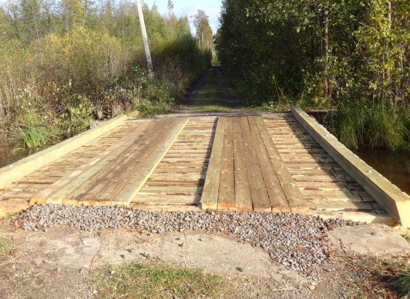 Отремонтирован мост в Кадуйском районе
