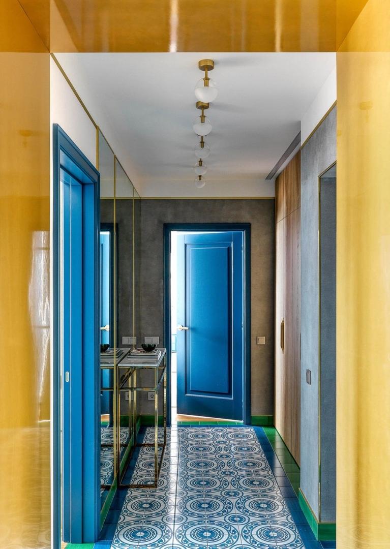 Квартира в Москве по проекту Art Group, 87 м² || 01