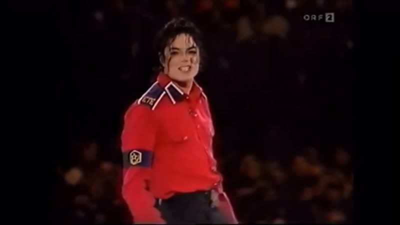 Michael Jackson at Bill Clinton's Gala 1993
