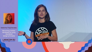 Becoming a better developer by using the SOLID design principles by Katerina Trajchevska