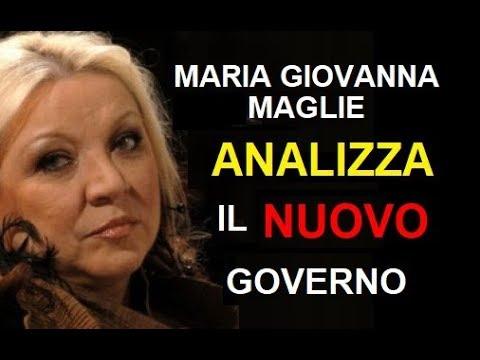 Maria Giovanna Maglie analizza il nuovo governo