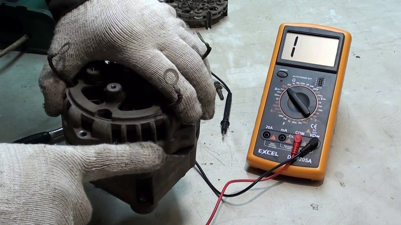 Ремонт генератора ВАЗ 80 А Нет зарядки Поиск и устранение причины