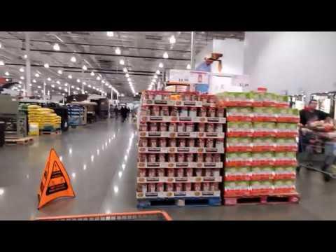 НЕТ ЕДЫ В США КРИЗИС Состояние супермаркета после погромов
