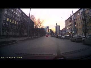 Пермь на пересечении Компроса и Екатерининской
