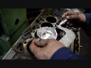 Правка-крацевание сетки хона в цилиндрах,наносим микрорельеф под новые поршневые кольца ford focus 2 rs